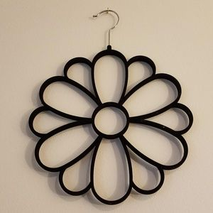 Floral hanger for belts, scarves, ties, and more!